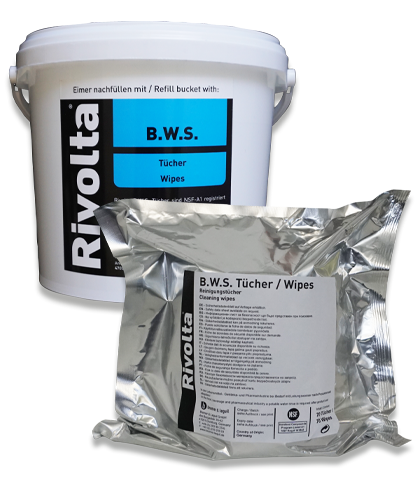 B.W.S. Wipes-RIVOLTA Cleaner / Water-based cleaners von Bremer & Leguil