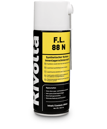 F.L. 88 N-RIVOLTA NSF-certified products / inner bearing lubrication of chains von Bremer & Leguil