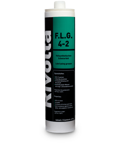 F.L.G. 4-2-RIVOLTA NSF-certified products / roller and plain bearing lubrication von Bremer & Leguil