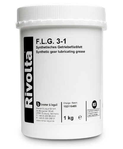 F.L.G. 3-1-RIVOLTA NSF-certified products / roller and plain bearing lubrication von Bremer & Leguil