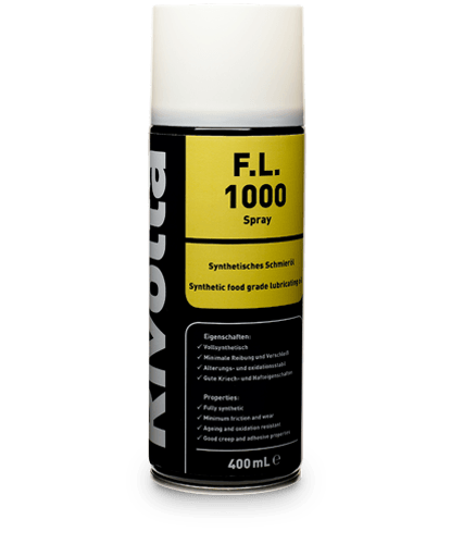 F.L. 1000-RIVOLTA NSF-certified products / outer bearing lubrication von Bremer & Leguil
