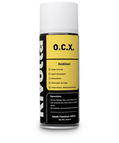 O.C.X.-RIVOLTA Cleaner / Cleaners for zero-potential applications von Bremer & Leguil